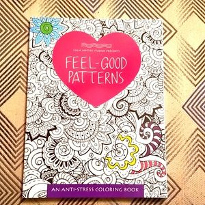 Feel Good Patterns Adult Coloring Book